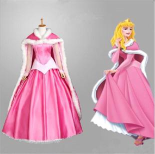 格林童话睡美人爱洛公主裙演出服cosplay服装