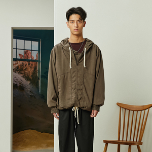 OPICLOTH(OPIC)19SS SHARKFIN JACKET 鲨鱼鳍形贴袋连帽夹克