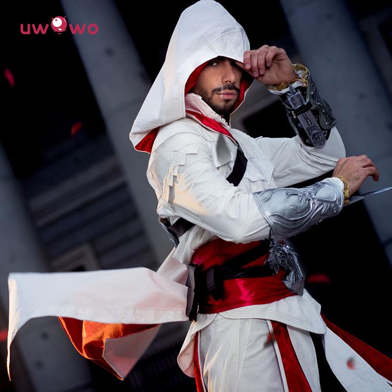 现货Uwowo悠窝窝 刺客游戏 Ezio刺客1代阿泰尔的信条cosplay男装