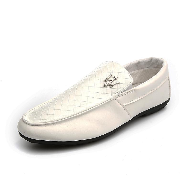 豆豆鞋懶人皮鞋透氣鞋 鞋駕車鞋男鞋樂福鞋潮流鞋子男