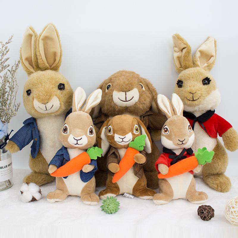 彼得兔公仔毛绒玩具娃娃熊兔玩具儿童毛绒玩具比得兔公仔