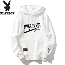 Playboy Sanitary Clothes Men's Fashion Hat Spring Summer T-shirt Men's Bottom Shirt Long Sleeve Spring and Autumn Blouse Men's Clothes
