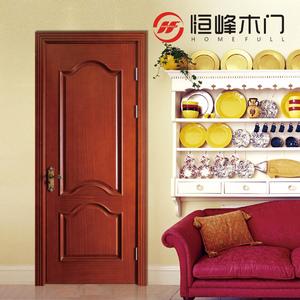 恒峰木门 欧式风格 复合实木门 室内套装门 烤漆门 HF-O705