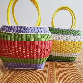 藤编手工提菜篮手提购物篮装鸡蛋篮采摘水果篮子厨房收纳筐野餐篮