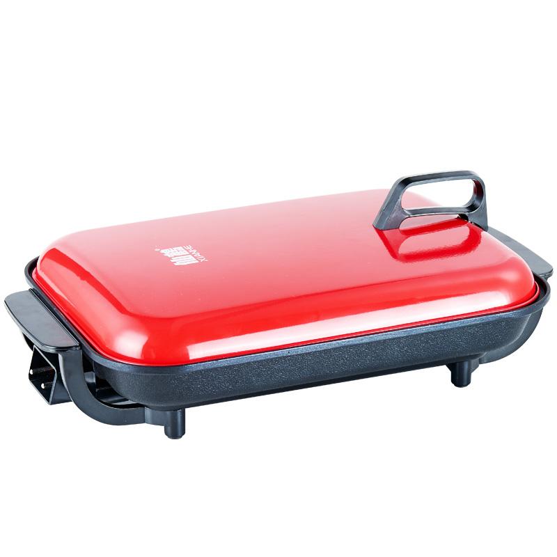 韓國烤肉鍋烤肉機電燒烤爐家用電燒烤盤韓式烤魚盤無煙電烤盤不沾