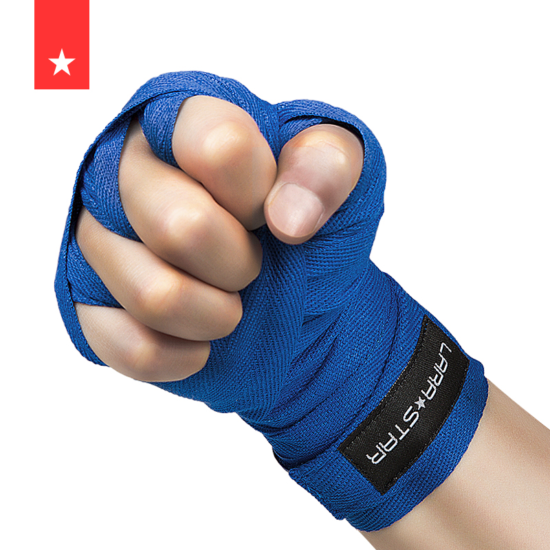 劳拉之星拳击绷带缠手带5米绑手带儿童3米散打搏击格斗泰拳带