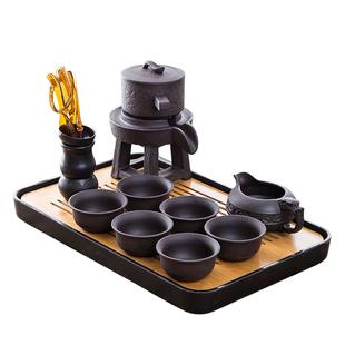 紫砂懶人茶具套裝 半自動家用簡約現代泡茶創意防燙功夫茶杯茶壺
