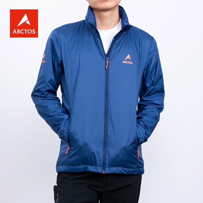 极星户外男款秋冬防泼水透气功能夹克旅行外套AGJC21161