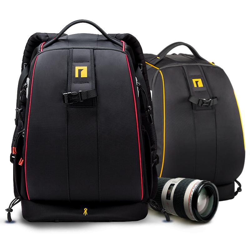 专业单反摄影包 双肩背包防盗大容量佳能尼康相机包安诺格尔A2123