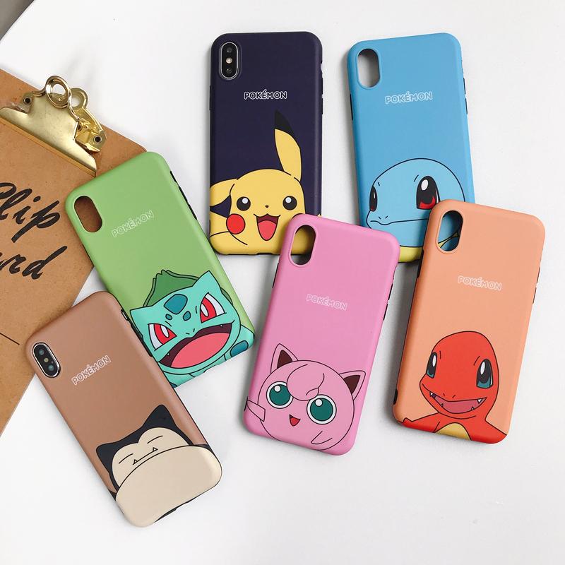韩国宠物小精灵iPhoneX手机壳max可爱皮卡丘苹果11Pro防摔8硅胶xr
