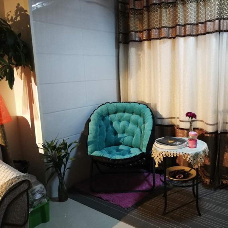 11月08日最新优惠创意懒人沙发单人阳台小沙发网红款简约卧室客厅休闲折叠午休躺椅