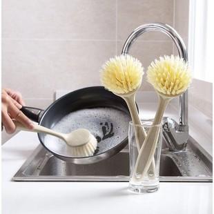 【锅刷5把】家用洗锅神器不伤锅不沾油长柄刷擦锅厨房清洁刷
