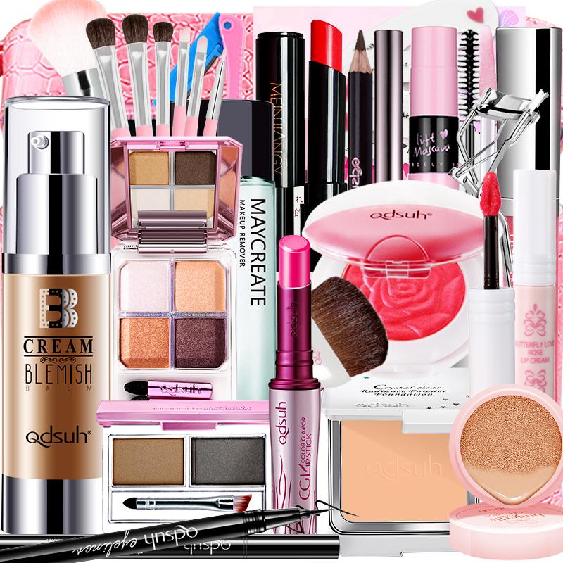 化妆品彩妆套装全套组合初学者防水持久自然淡妆美妆工具学生新手