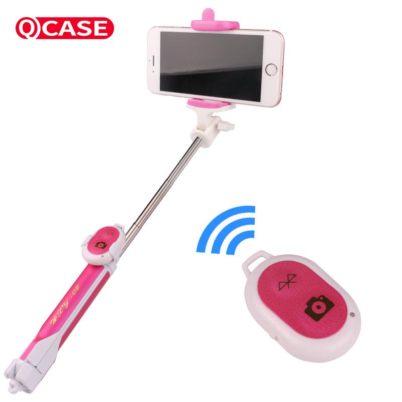 手機藍牙 杆oppo蘋果7華為手機 杆神器遙控線控拍照三腳架