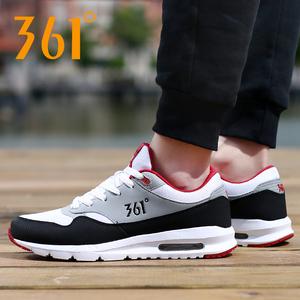 361男鞋春季气垫运动鞋子361度正品男士网面透气休闲跑步鞋旅游鞋