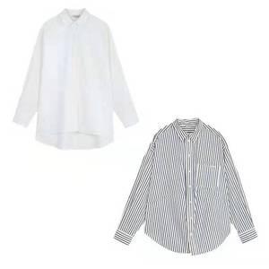 于momo2019新款慵懶風休閑襯衫女設計感小眾寬松長袖上衣oversize