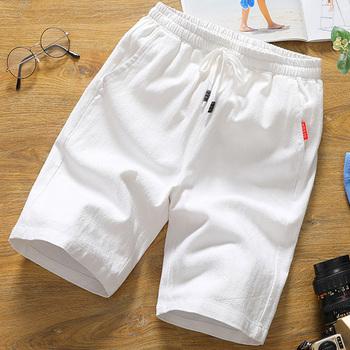 男短裤夏季纯棉运动五分裤夏天休闲5分裤男士宽松沙滩裤大裤衩潮