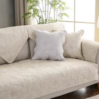 全棉四季沙发垫布艺简约现代套坐垫评价如何