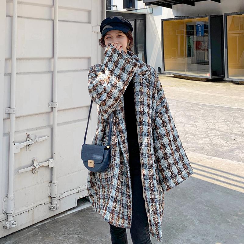 现货冬季新款含羊毛高品质小香风毛呢外套259-9218-P185控258,女装毛呢外套,美俪侎