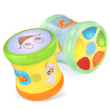 Guyu Baby's Hand Tapping Drum, Children's Music Tapping Drum, Rechargeable Baby Toys for 0-6-12 Months, 3 IQ-1 Years