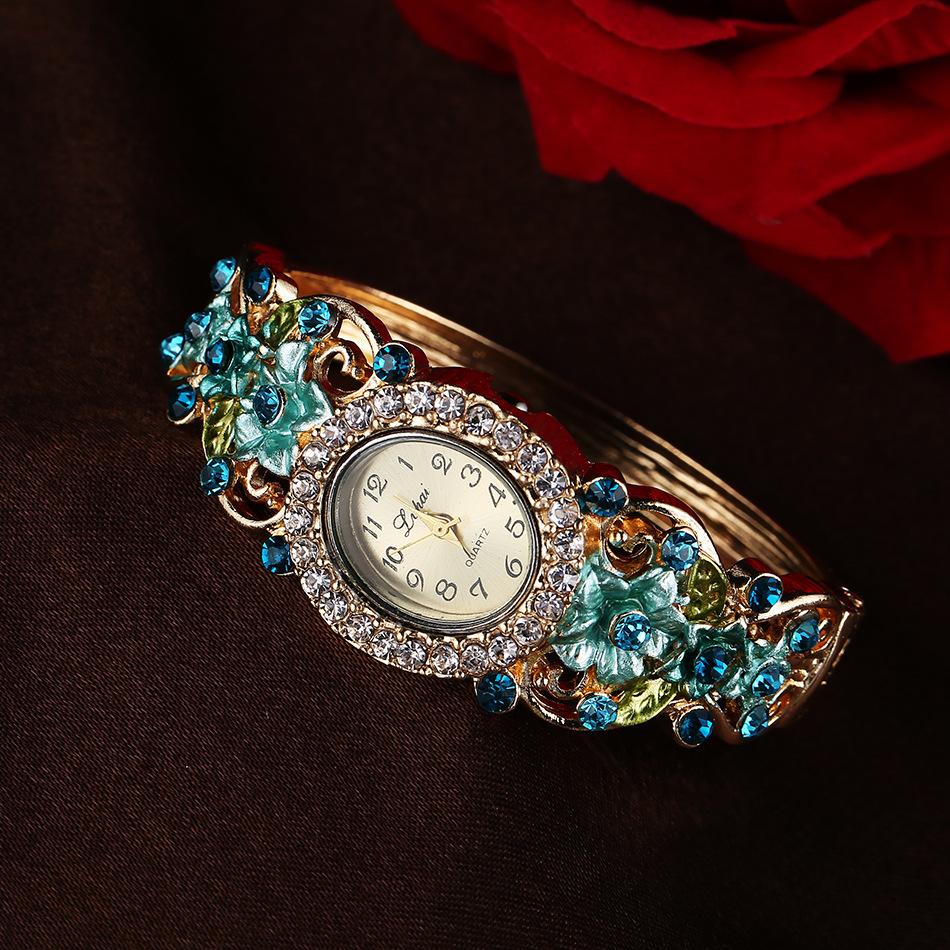 New Korean watch exquisite bracelet watch popular womens fashion watch quartz watch luxury watch
