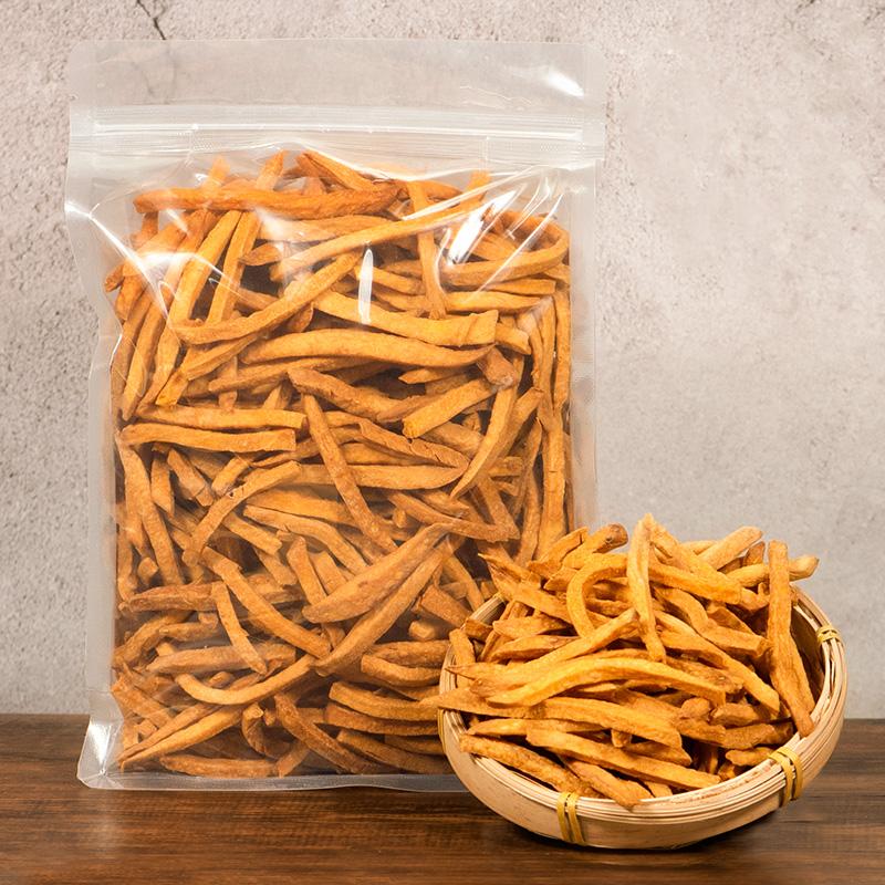 比比妙农家自制番薯条无糖无油无添加红薯干袋装500g孕妇零食小吃16.80元包邮