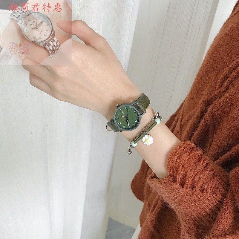 Roman watch ancient style Chinese style retro junior high school girl literature and art Forest Department little fresh college style