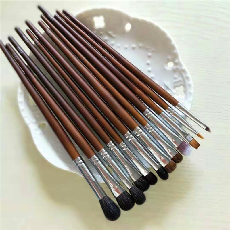 Cangzhou delivers hairy animal hair, eye shadow brush, concealer brush, eyebrow brush, lip brush, nose shadow brush, makeup brush, a suit.