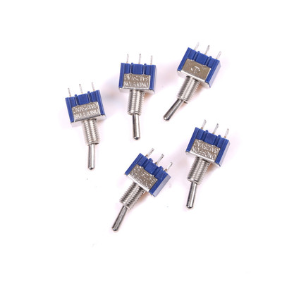 Promotion 5 Pcs 3 Position AC ON/OFF/ON SPDT Toggle Switch