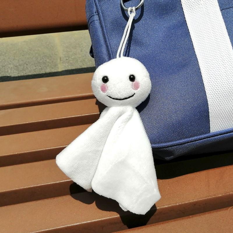 书包挂坠小玩偶帆布斜挎包挂件腰包装饰手机可爱毛绒背包挂饰小众