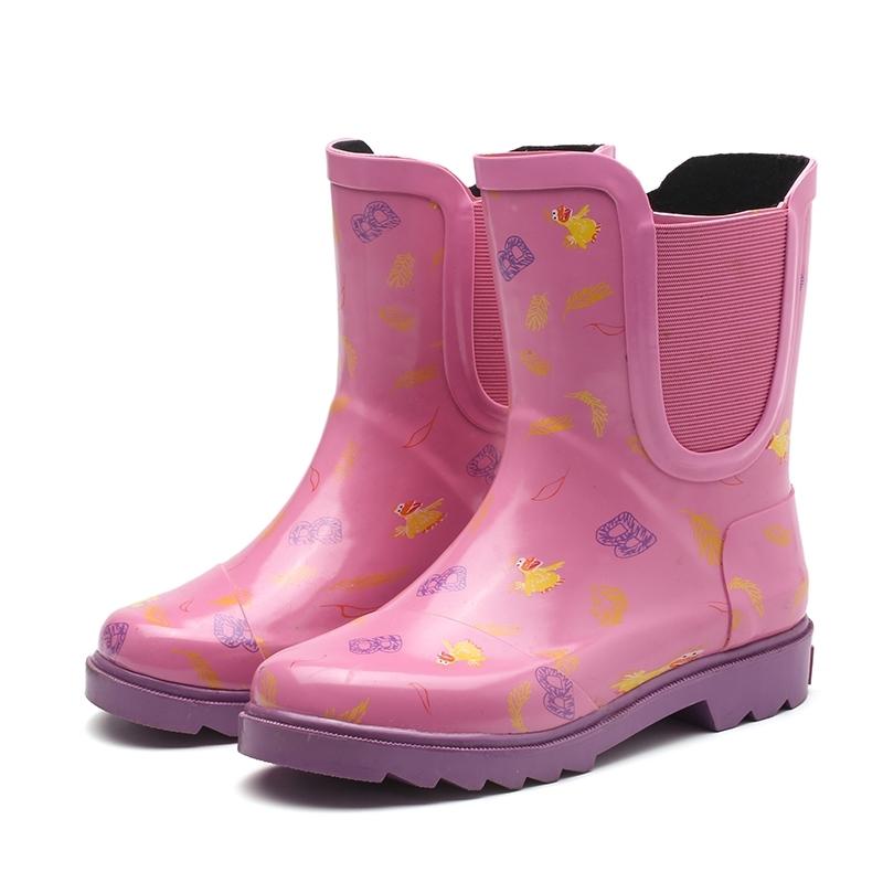 韩国女童夏季雨靴四季通用防滑小学生女孩幼儿园宝宝水鞋儿童雨鞋,可领取3元天猫优惠券