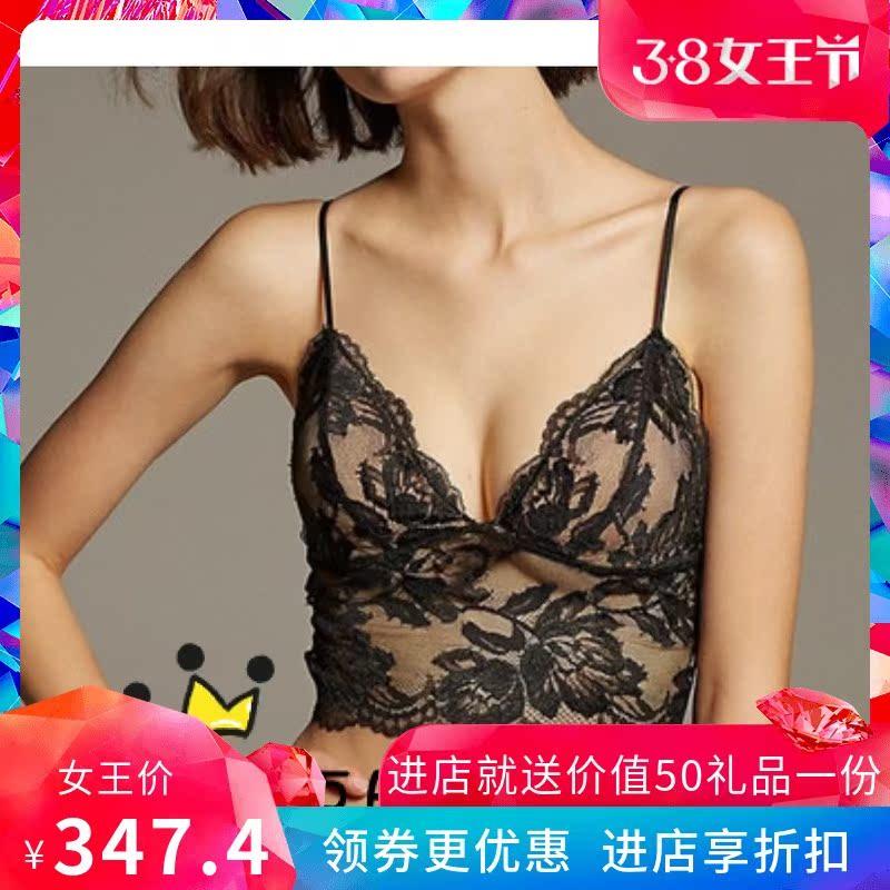 日本代购peach john蜜桃派salon性感蕾丝内衣内裤吊带文胸套装女