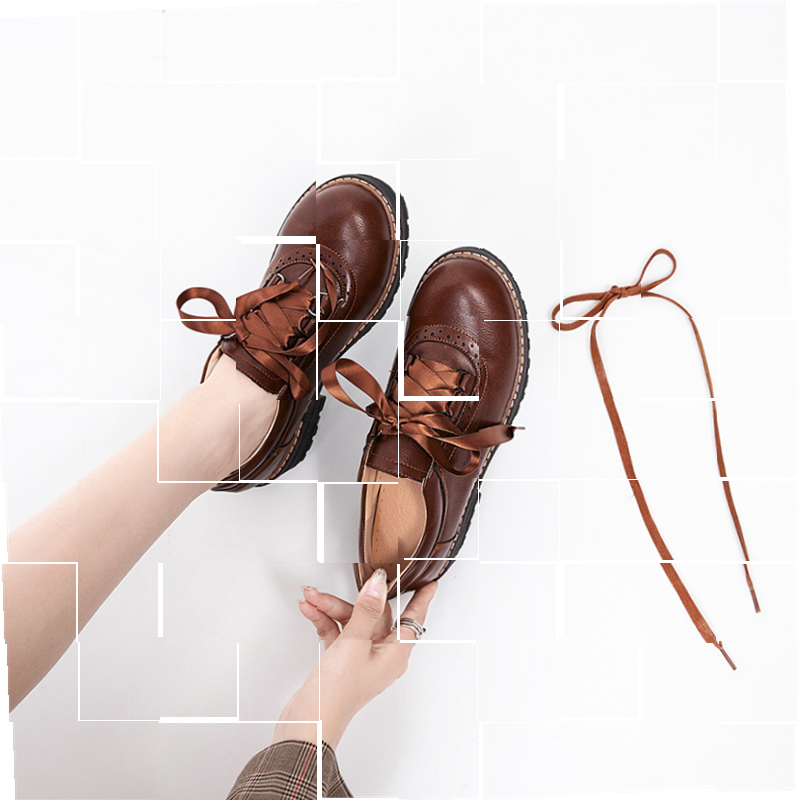 Custom made shoes: Childrens custom-made xianmeng Xianying Lolita shoes JK small leather shoes womens British style uniform shoes Japanese school.