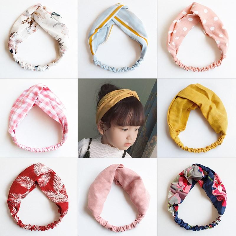 女洋气韩国公主小女孩百搭可爱发带10-12新券