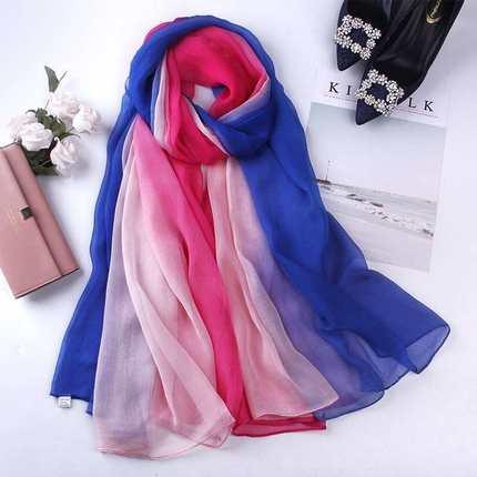 围巾女冬季 百搭 长款多功能图片