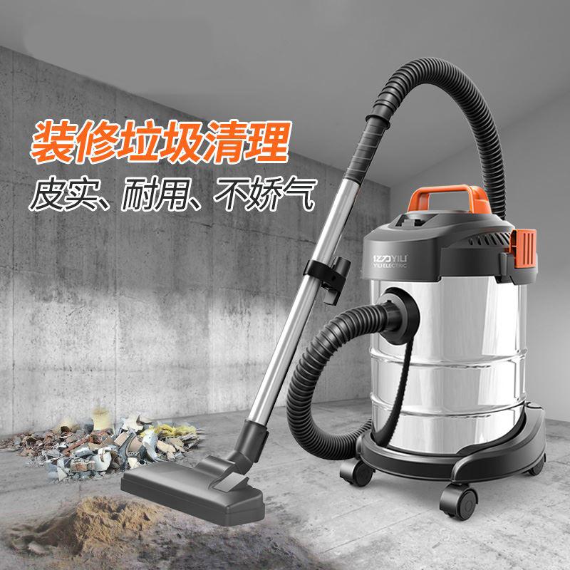 大功力装修工程吸木屑粉尘吸尘器专用桶式除尘机强力层大功率办