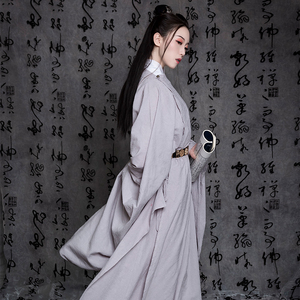 斜塘衣庄【醉清风】原创汉服明制圆领袍男女同款中国风非古装春款图片