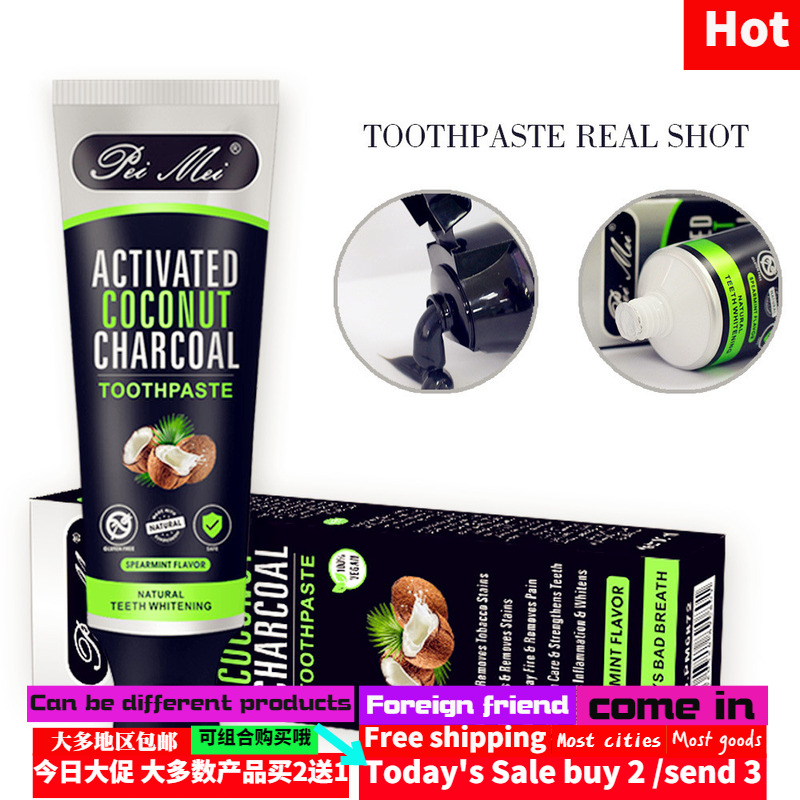 Bamboo charcoal toothpaste dental cream Cleaning toothstains