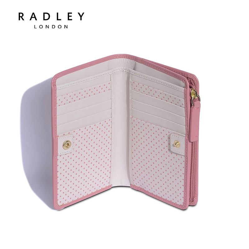 Multi slot pink double fold Wallet early spring 2021 new womens zero wallet s1770663