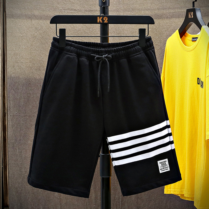 South China Polar family summer TB shorts mens fashion brand mens summer loose casual sports Capris thin ins Beach