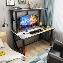 电竞桌简约网吧游戏台式电脑桌网红直播网咖桌子家用简易办公桌子