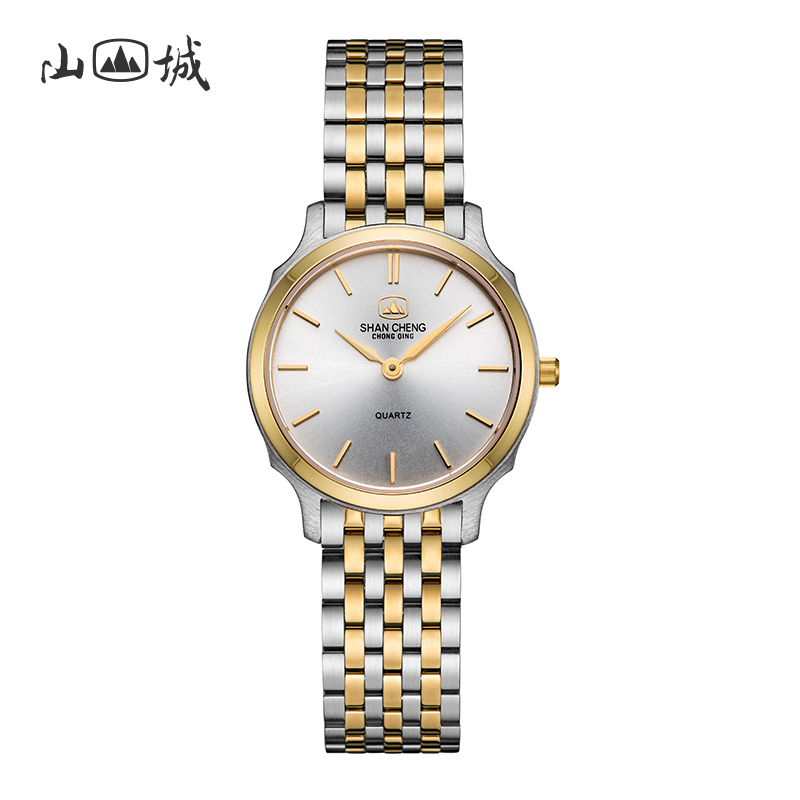 Mountain city watch womens small dial small temperament authentic fashion womens watch room gold strap womens fashion trend Watch