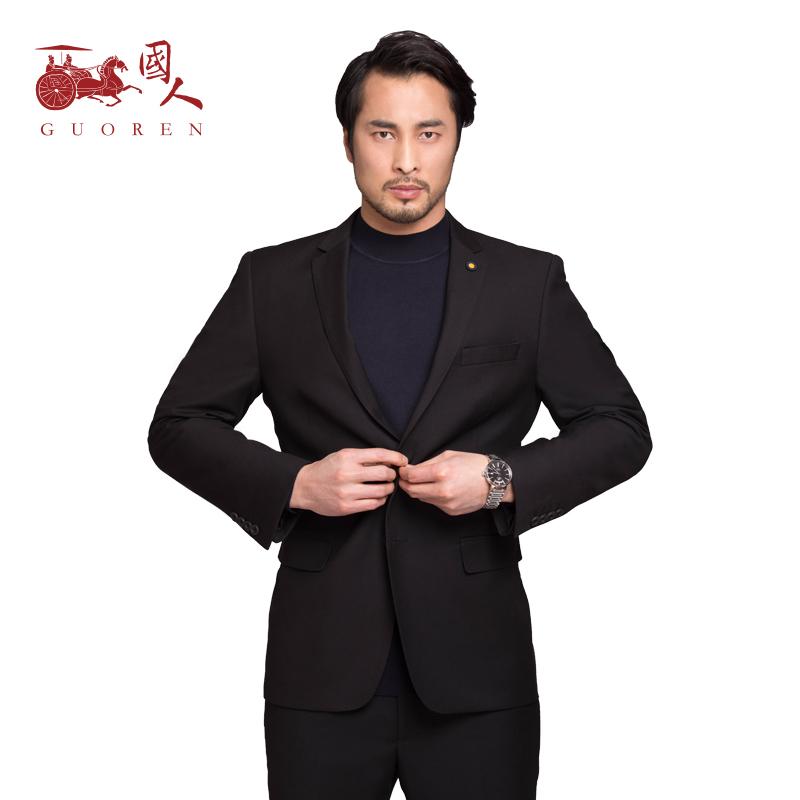 Chinese suit suit men business casual suit groom suit Korean slim wedding dress formal suit