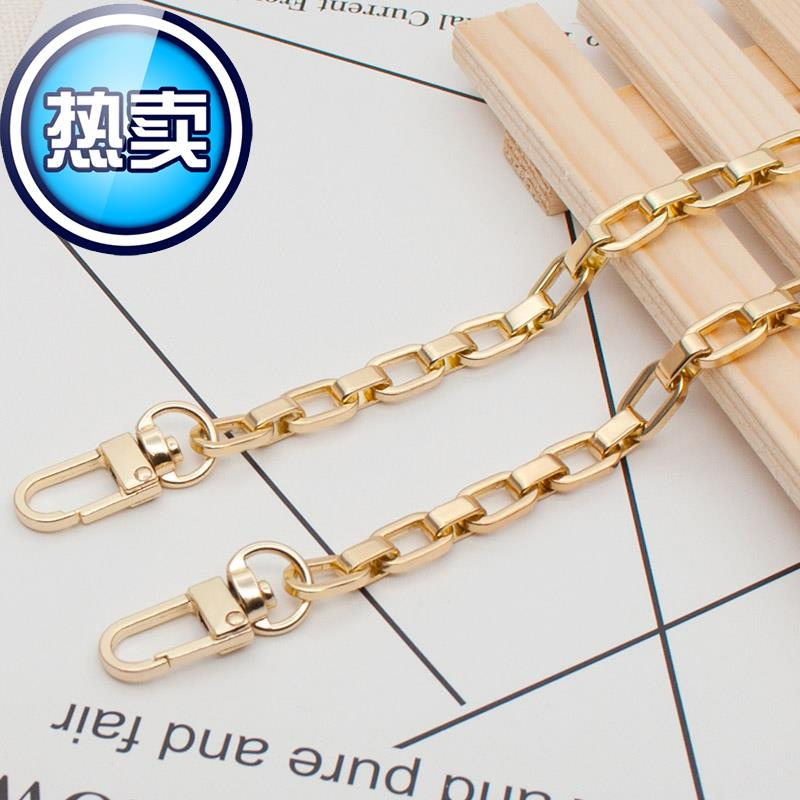 Color cant be faded by post 5 single shoulder inclined span O-chain disassembly package V chain metal chain package chain accessories l package chain belt