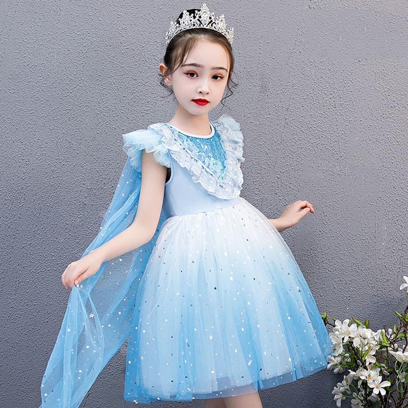 女大童汉服春装小女生的旗袍古装十礼服女孩套装长裙子12岁女童。