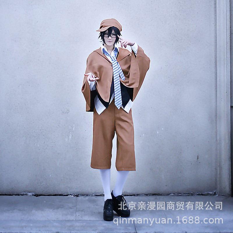 【】文豪野犬江户川乱步动漫展年会万圣节表演cosplay服装