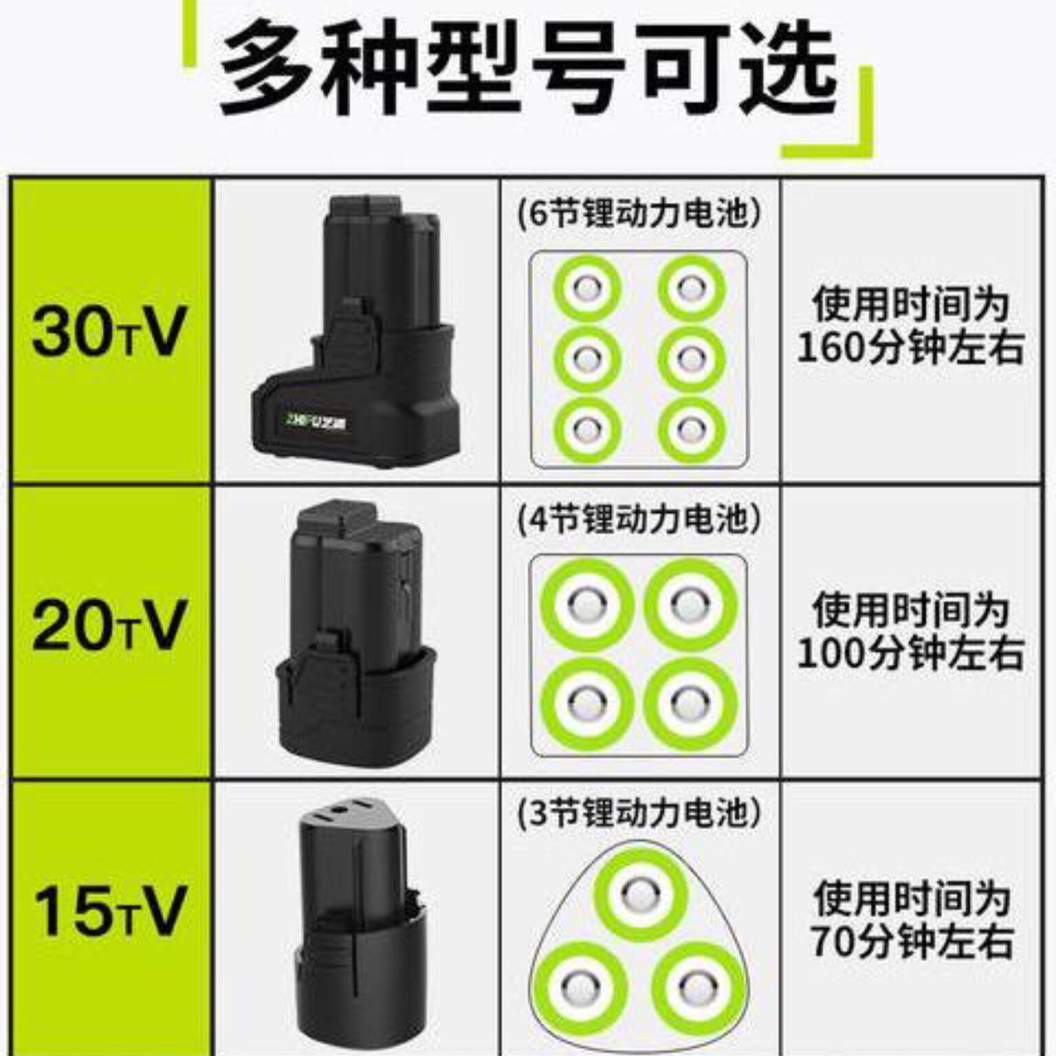 11-29新券手钻电钻30tv芝浦龙韵12v16.8v25v充电电转钻锂电池电动工具配件