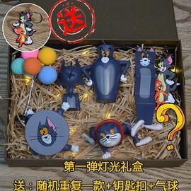 办公室展示礼物女生同学动漫角色景品游戏沙雕猫主题猫和老鼠手办图片