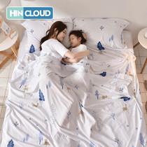 班哲尼睡袋旅行隔脏一次姓大人旅游单人酒店宾馆医院室内床单被罩