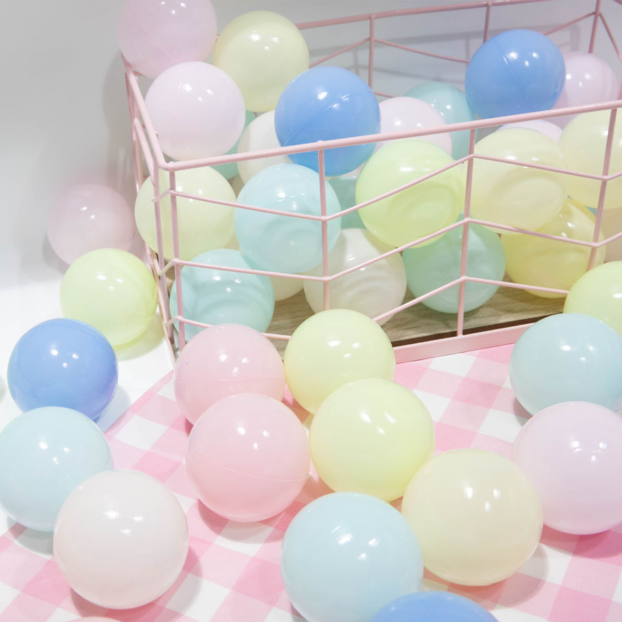热销6件包邮7cm加厚环保包邮宝宝玩具球海洋球